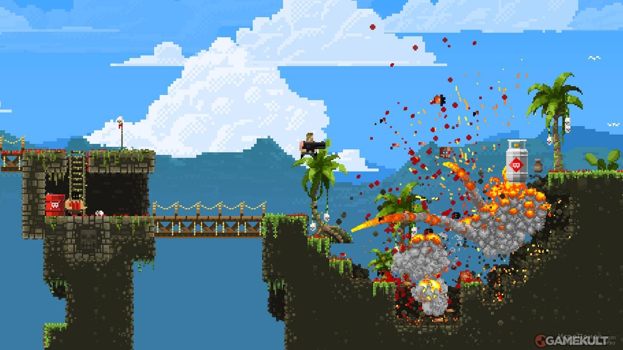 Скриншот к игре Broforce