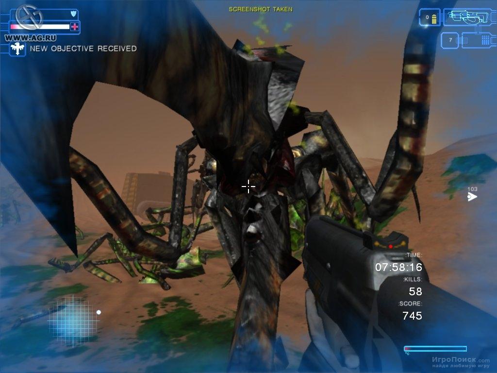 Скриншот к игре Starship Troopers