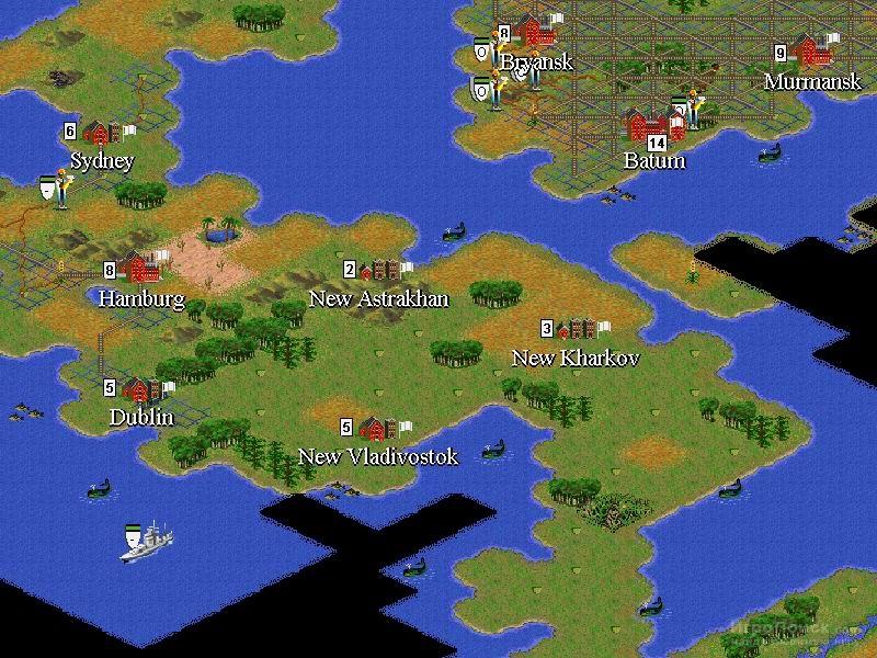 Скриншот к игре Sid Meier's Civilization II