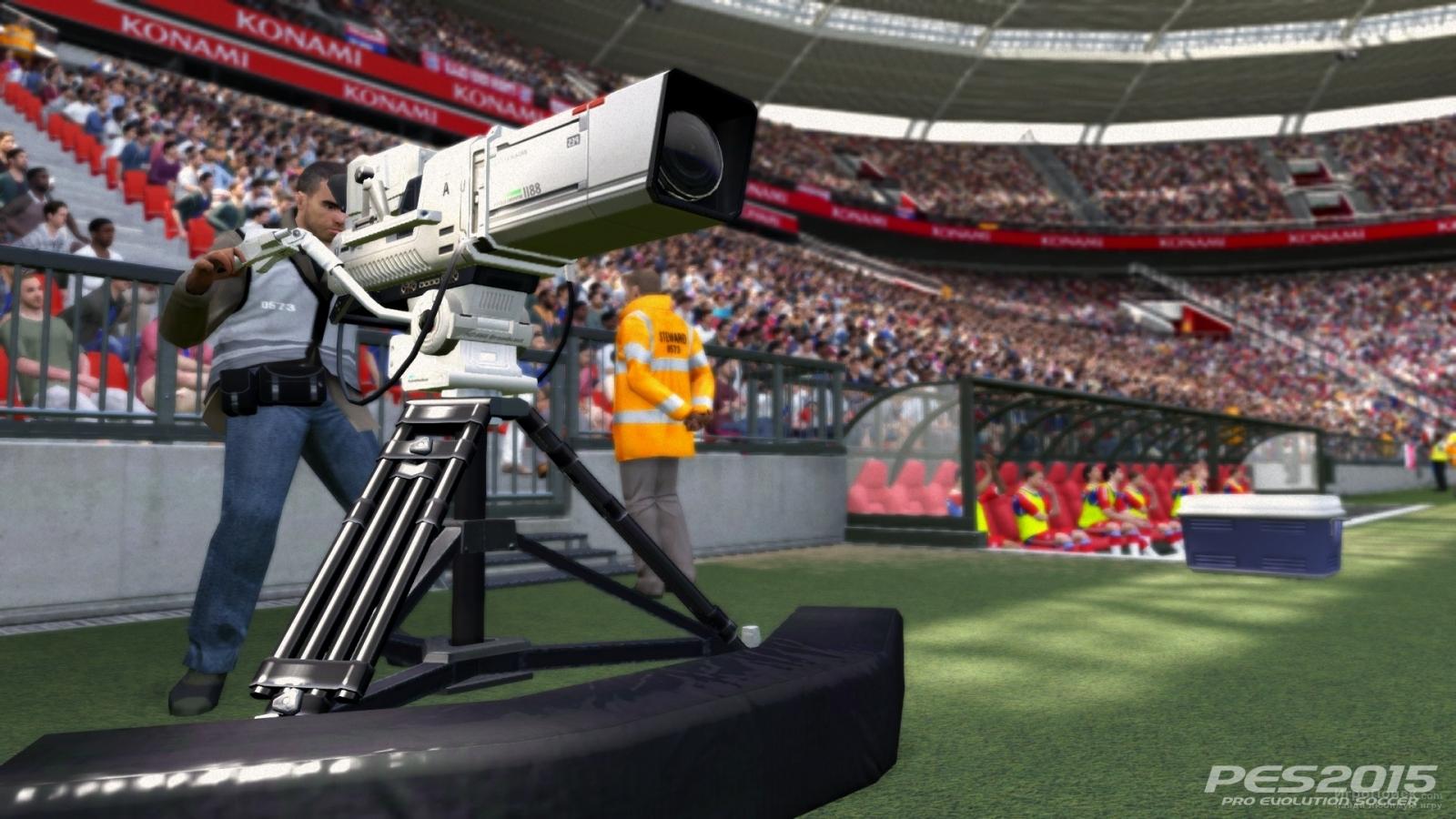 Скриншот к игре Pro Evolution Soccer 2015