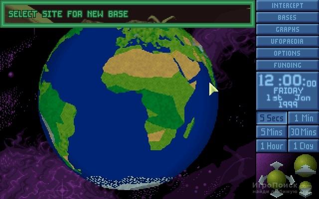 Скриншот к игре X-COM: UFO Enemy Unknown