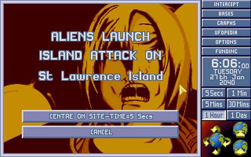Скриншот к игре X-COM: Terror from the Deep