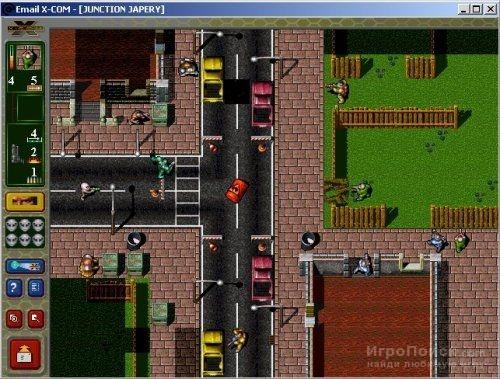 Скриншот к игре X-COM: Email Games