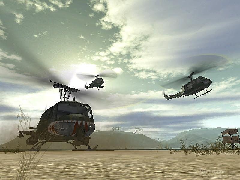 Скриншот к игре Battlefield Vietnam