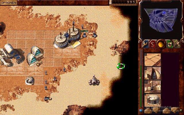 Скриншот к игре Dune 2000