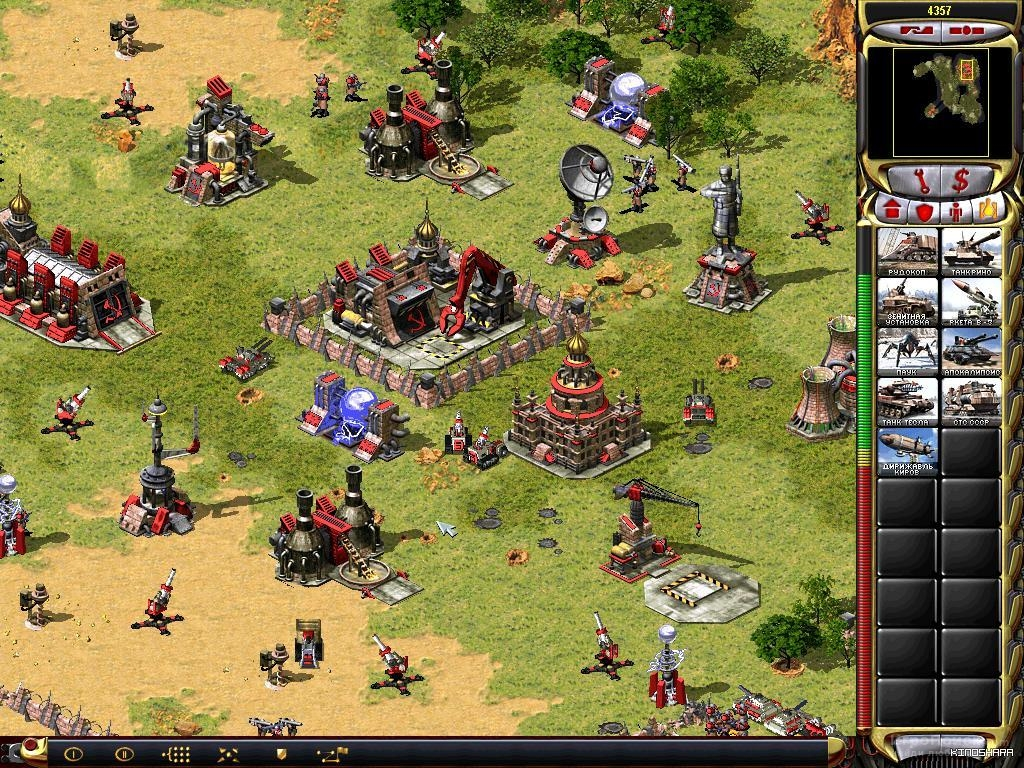 Скриншот к игре Command and Conquer: Red Alert 2