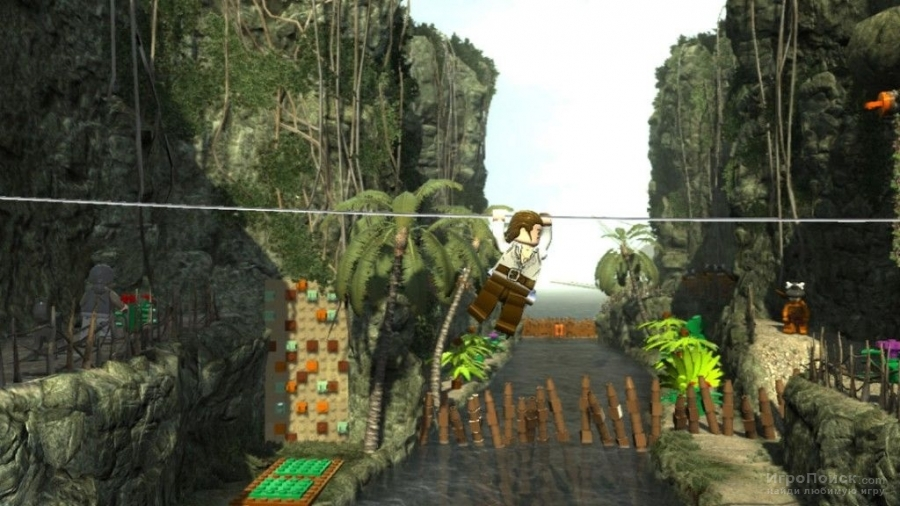 Скриншот к игре LEGO Pirates of the Caribbean: The Video Game