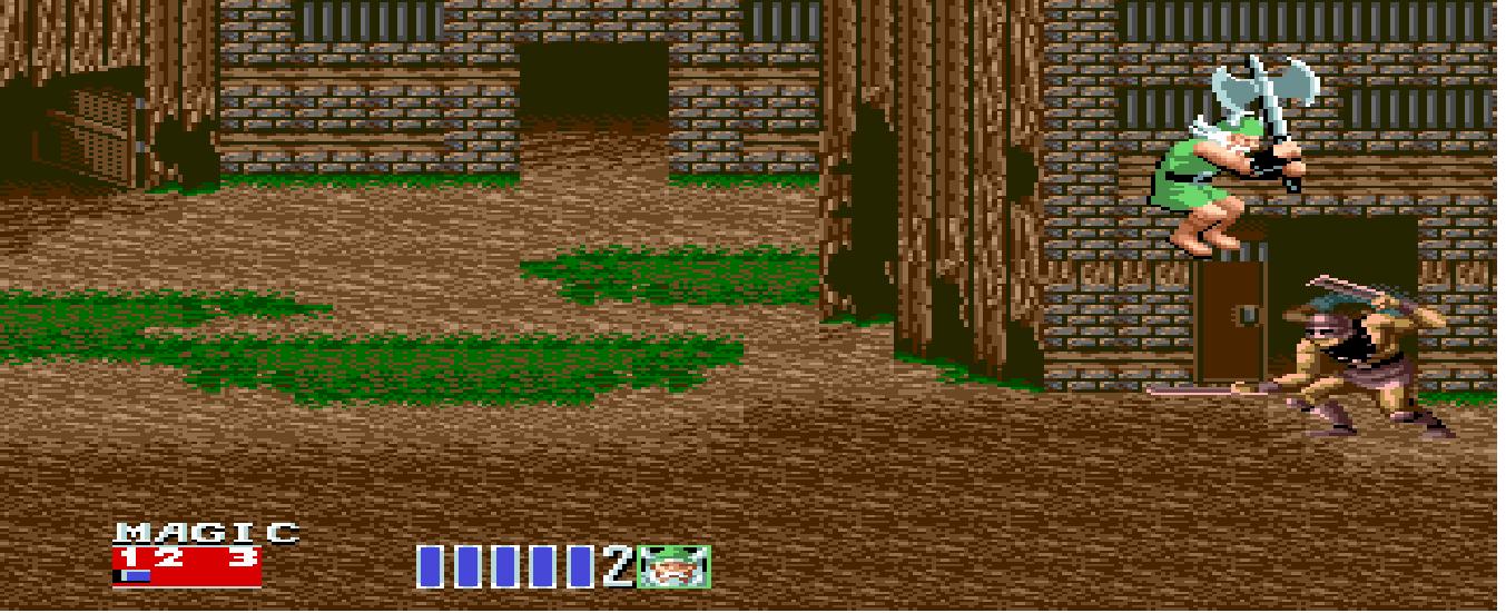 Скриншот к игре Golden Axe II