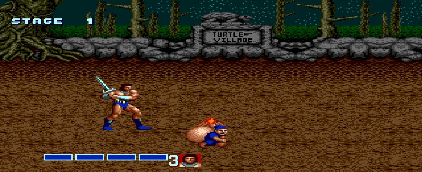 Скриншот к игре Golden Axe