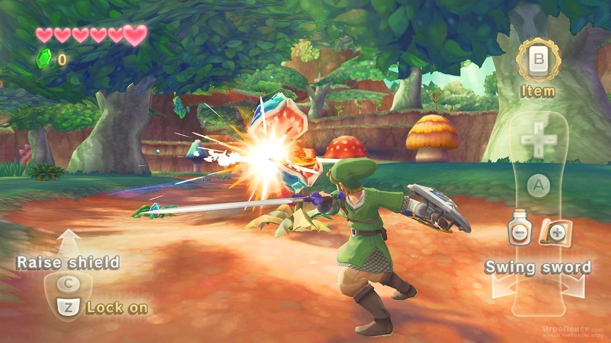 Скриншот к игре The Legend of Zelda: Skyward Sword