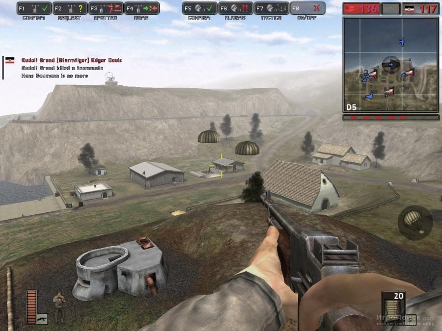 Скриншот к игре Battlefield 1942