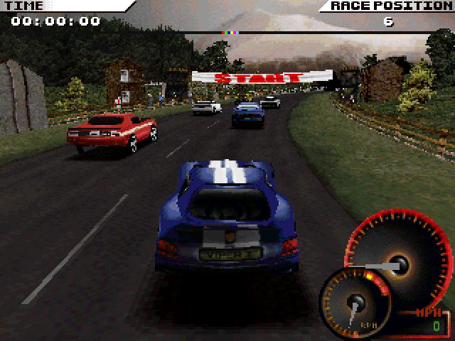 Скриншот к игре Test Drive 4