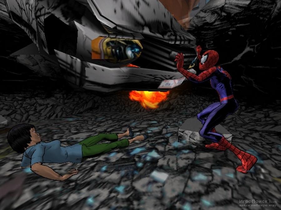 Скриншот к игре Ultimate Spider-Man