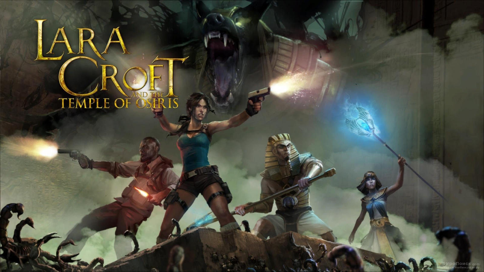 Скриншот к игре Lara Croft and the Temple of Osiris