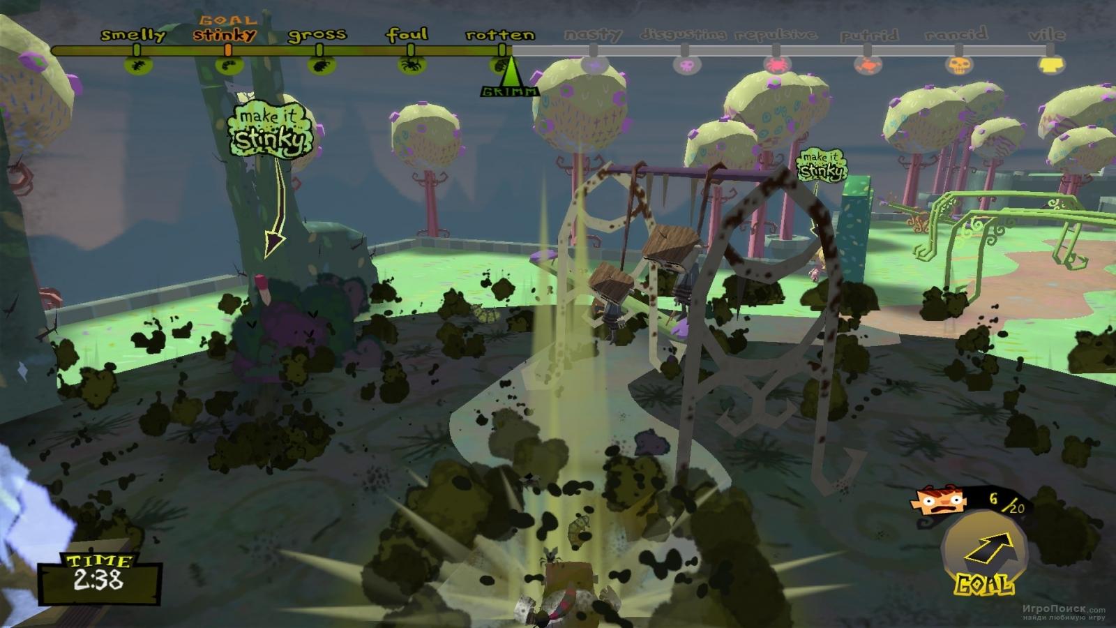 Скриншот к игре American Mcgee's Grimm: Season One