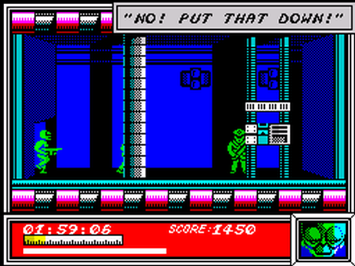 Скриншот к игре Dan Dare: Pilot of the Future