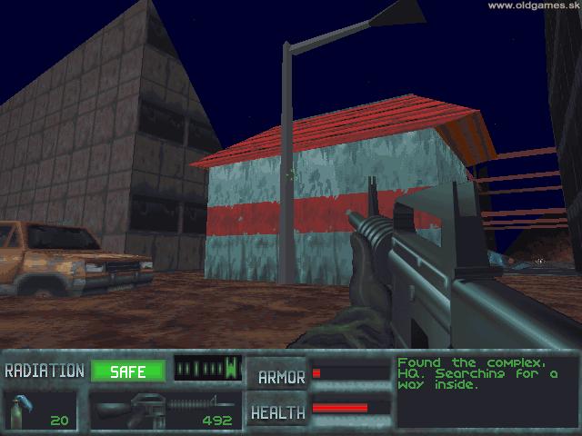 Скриншот к игре The Terminator: SkyNET