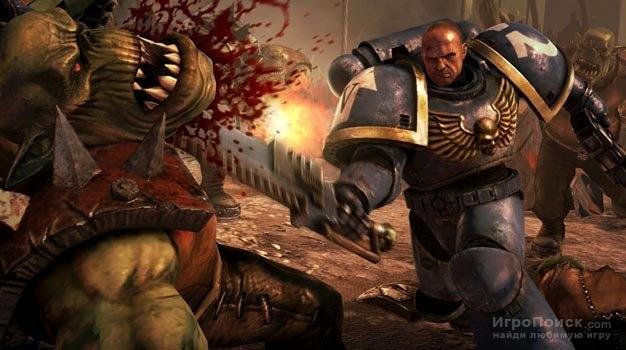 Скриншот к игре Warhammer 40,000: Space Marine