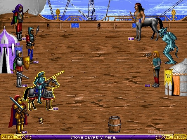 Скриншот к игре Heroes of Might and Magic