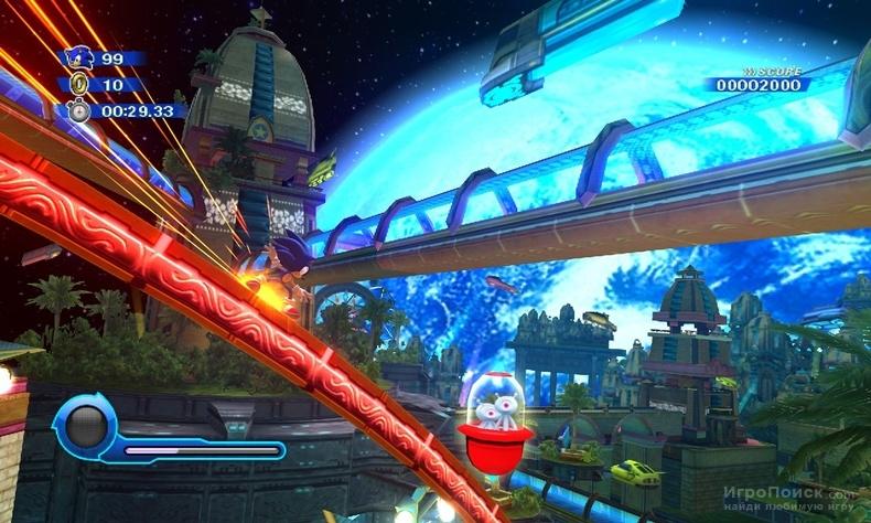 Скриншот к игре Sonic Colors