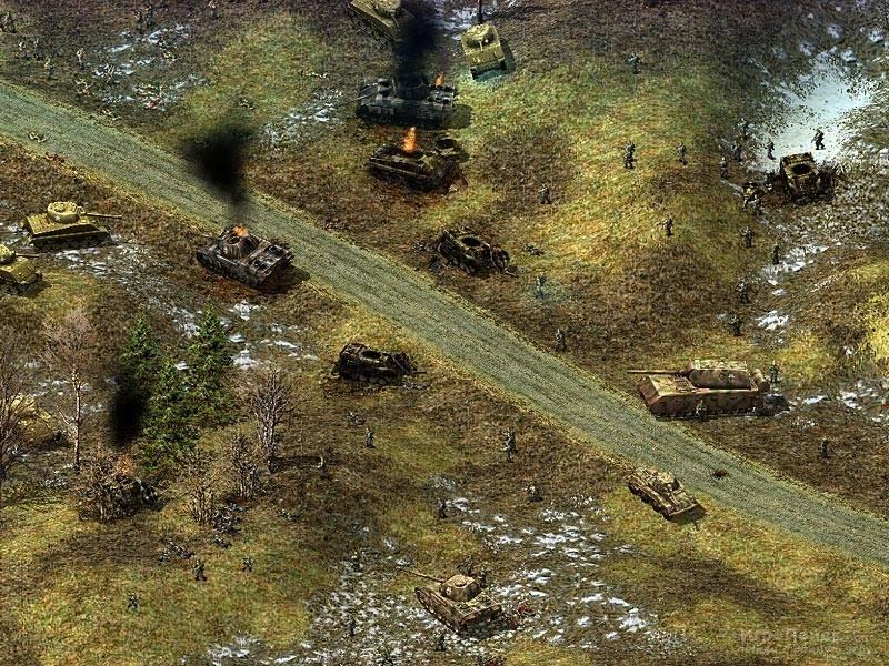 Скриншот к игре Blitzkrieg