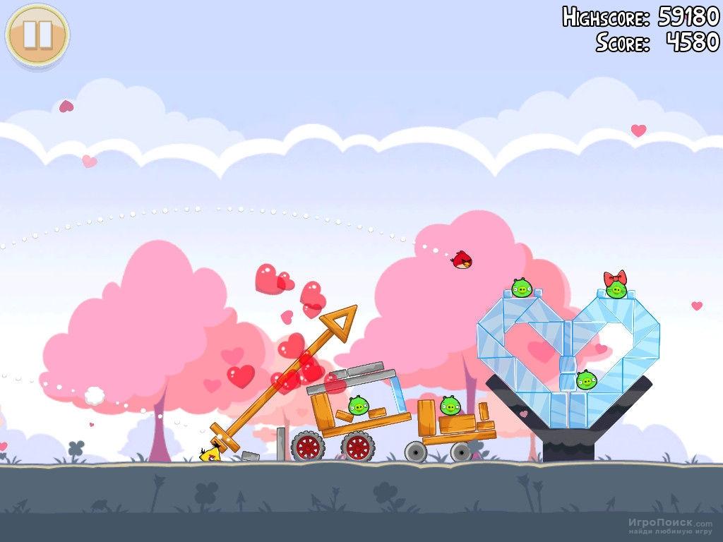 Скриншот к игре Angry Birds Seasons
