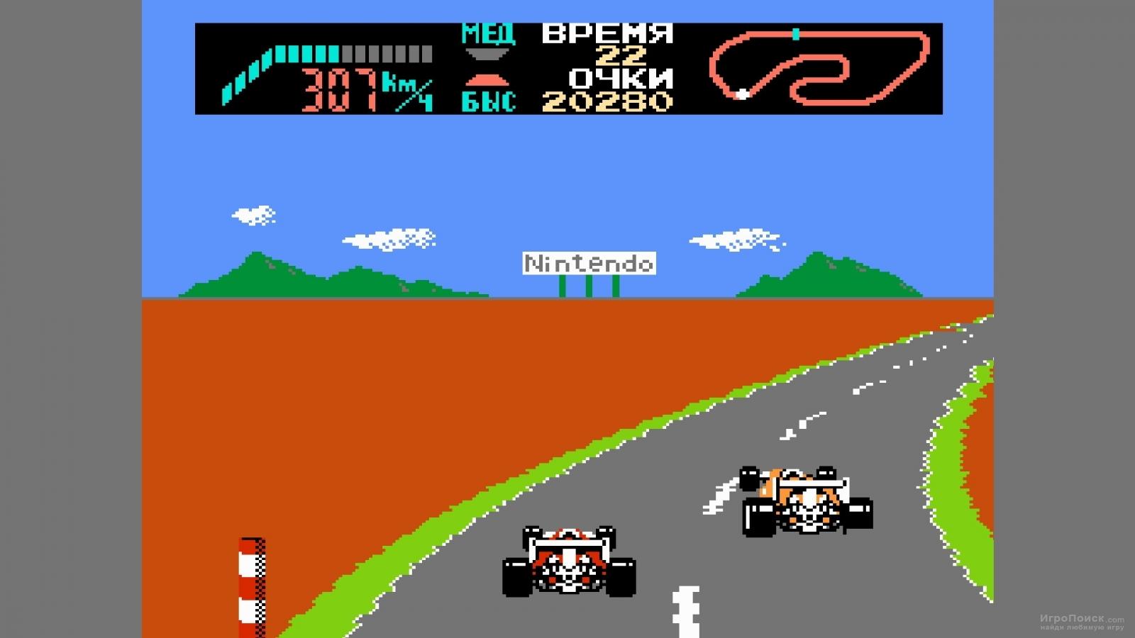 Скриншот к игре F-1 Race