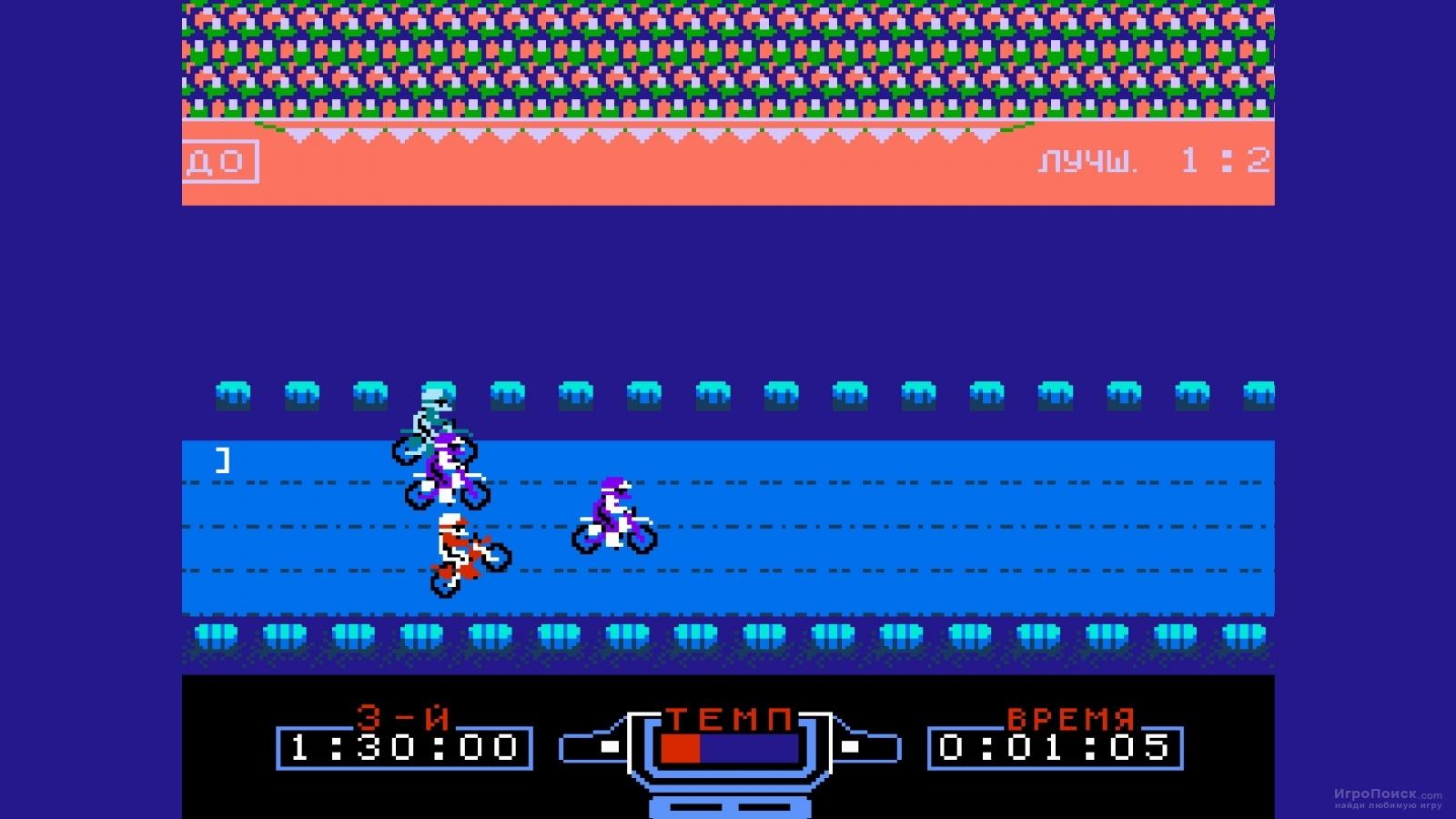 Скриншот к игре Excitebike