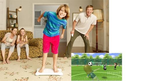 Скриншот к игре Wii Fit