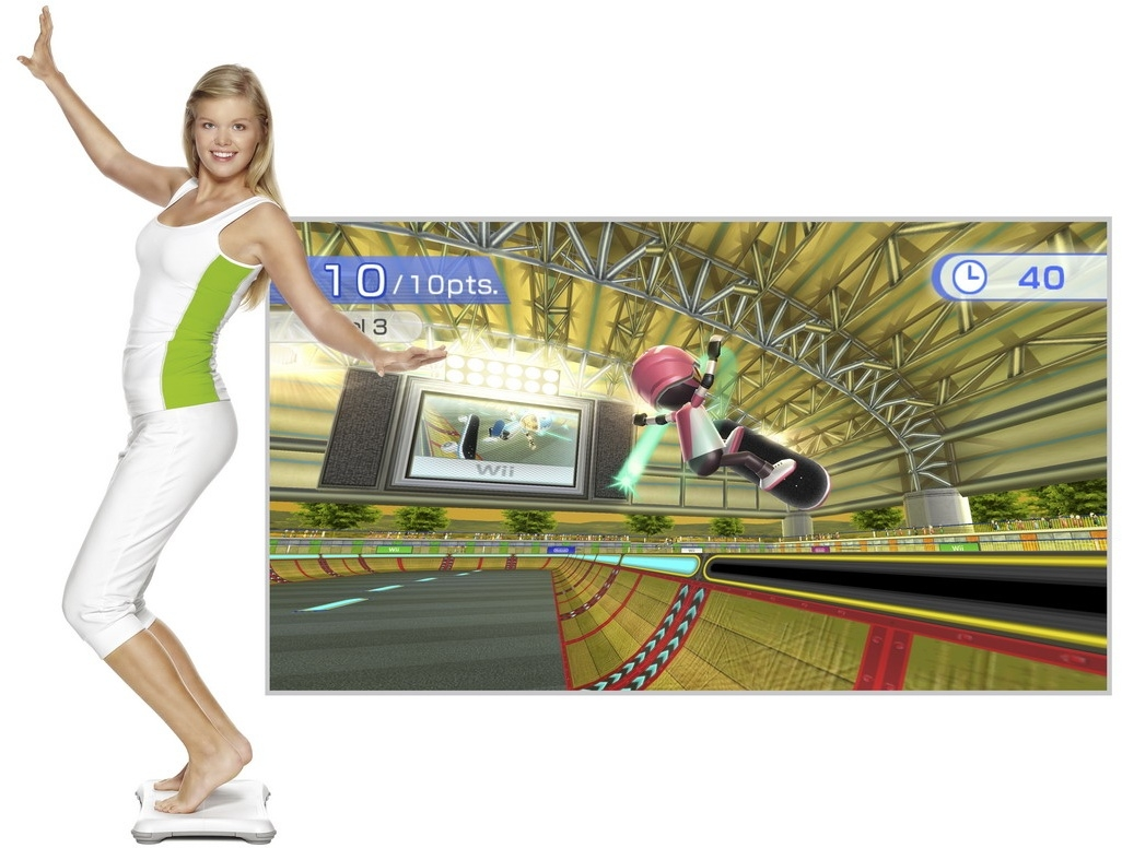 Скриншот к игре Wii Fit Plus