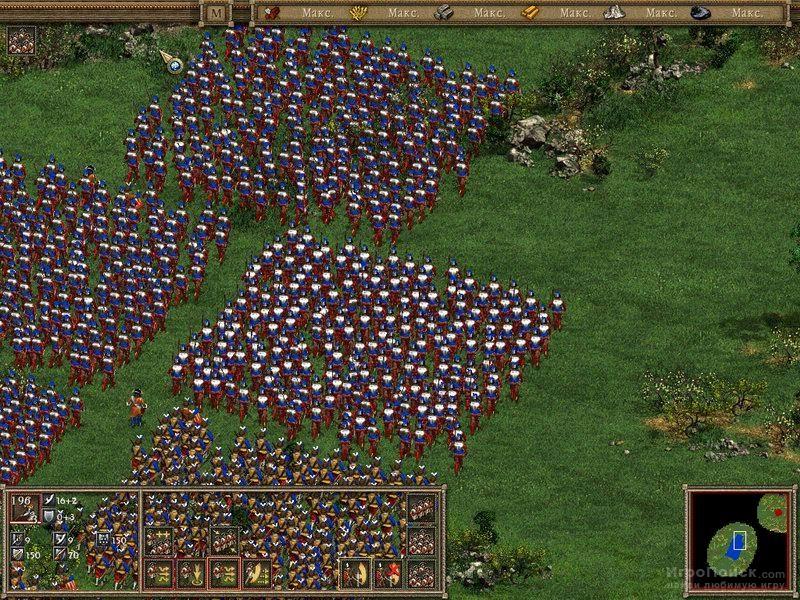 Скриншот к игре American Conquest