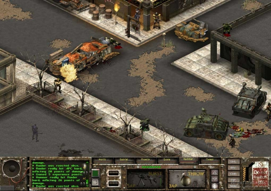 Скриншот к игре Fallout Tactics: Brotherhood of Steel