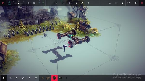 Скриншот к игре Besiege