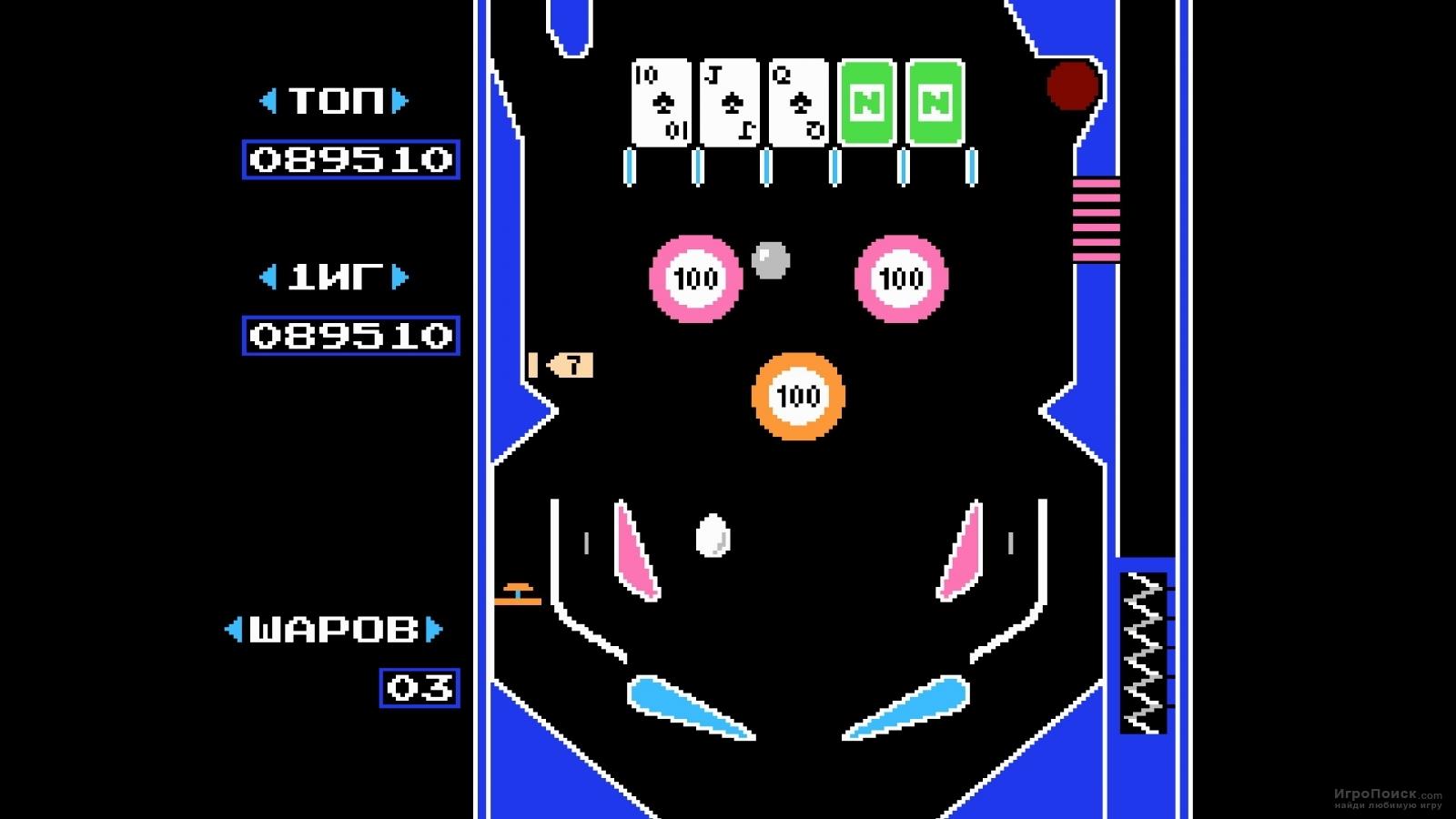 Скриншот к игре Pinball