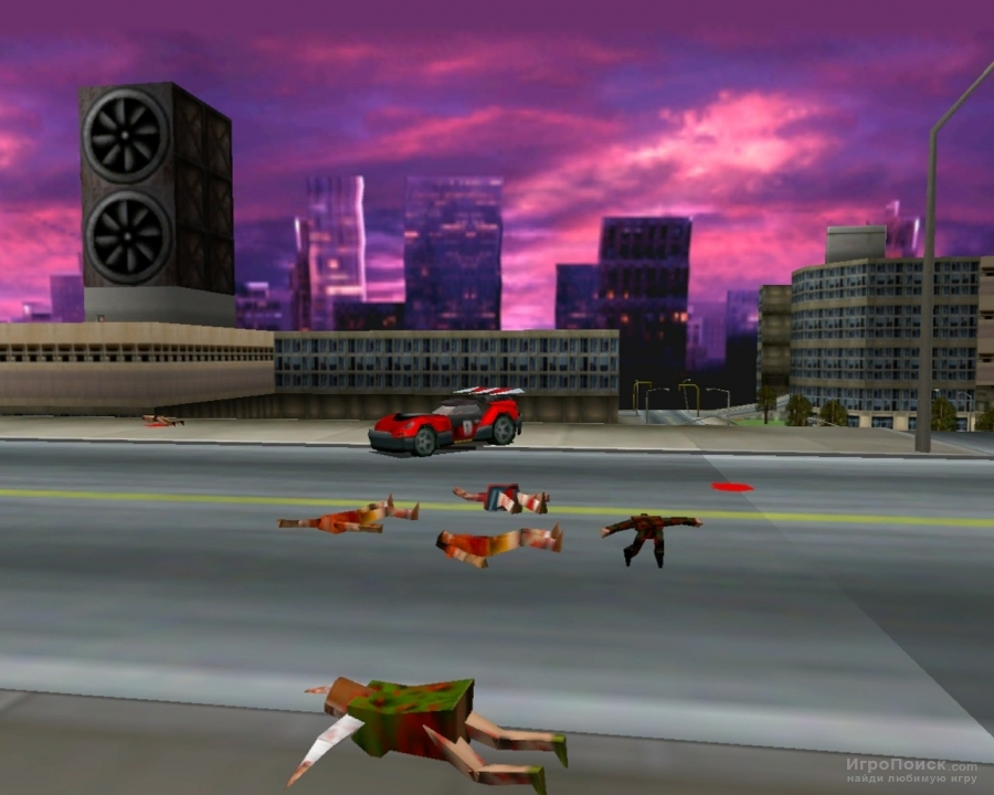 Скриншот к игре Carmageddon 2: Carpocalypse Now