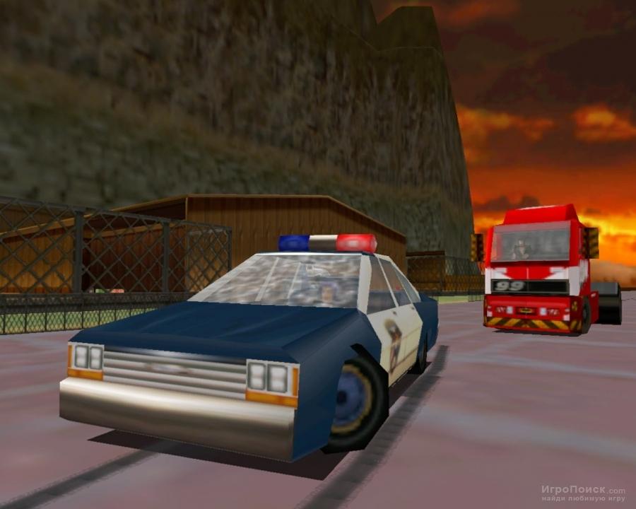 Скриншот к игре Carmageddon 2: Carpocalypse Now