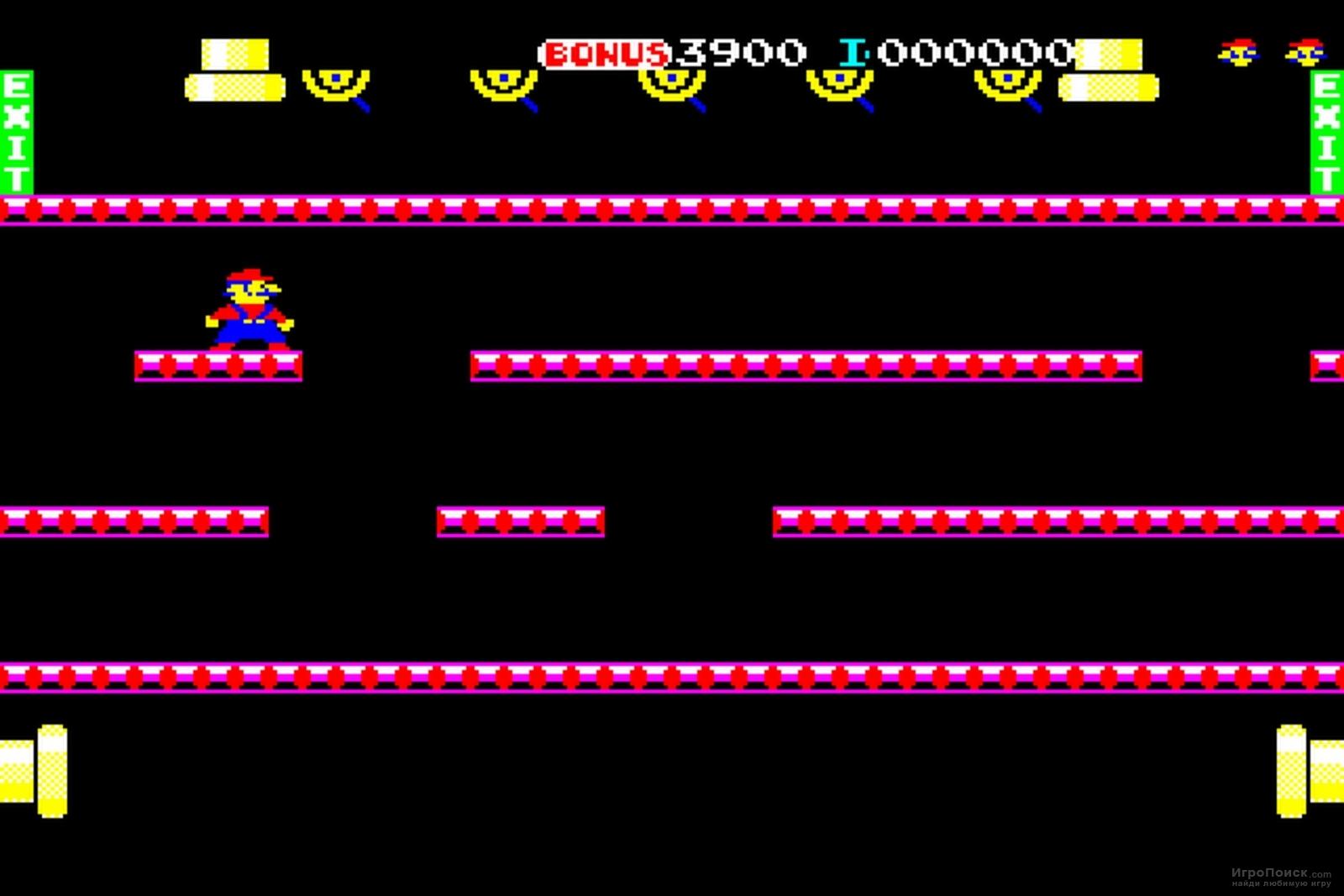 Скриншот к игре Mario Bros. Special