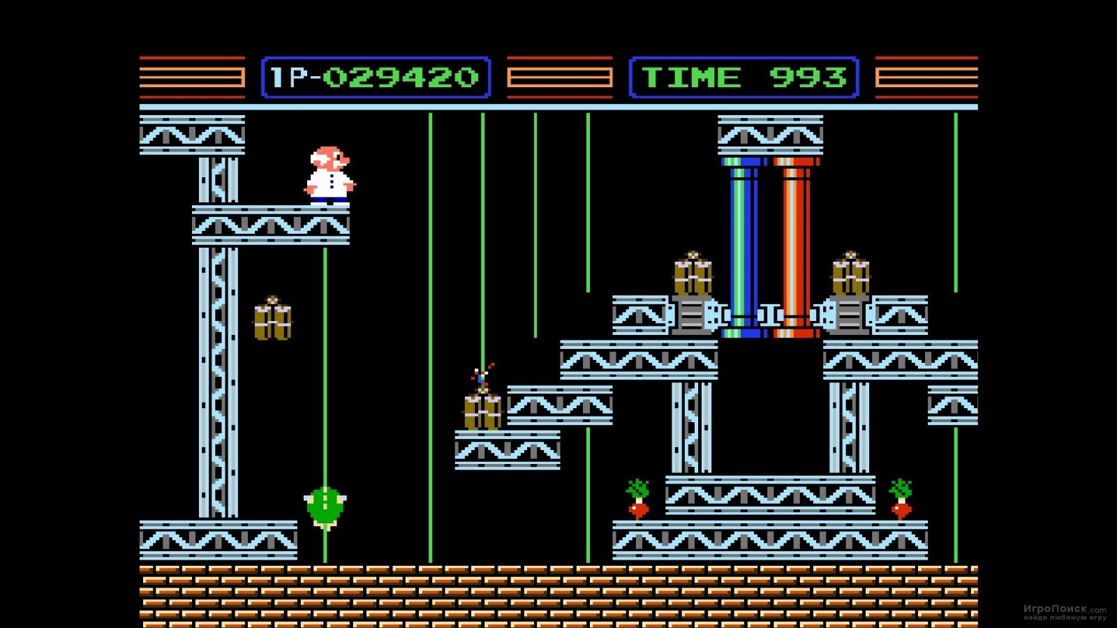 Скриншот к игре Gyromite
