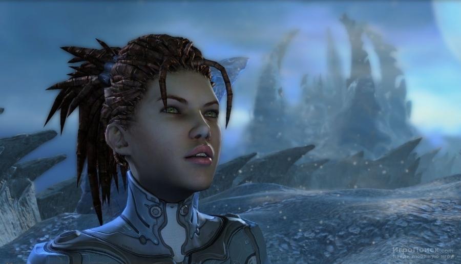 Скриншот к игре StarCraft 2: Heart Of The Swarm