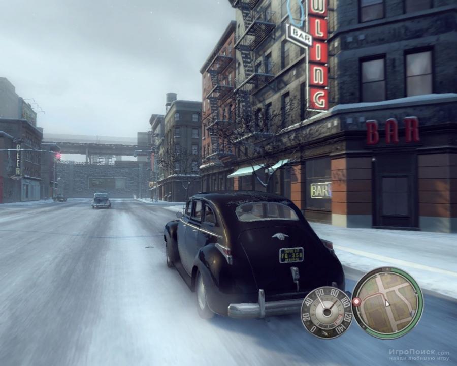 Скриншот к игре Mafia II