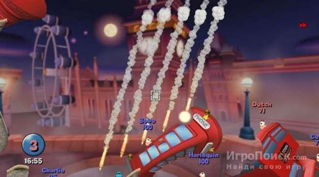 Скриншот к игре Worms Reloaded