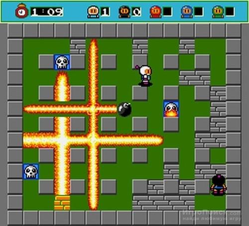 Игру Bomberman На