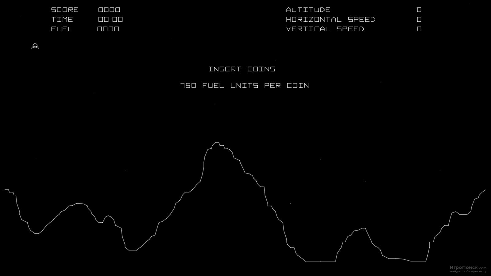 Скриншот к игре Lunar Lander