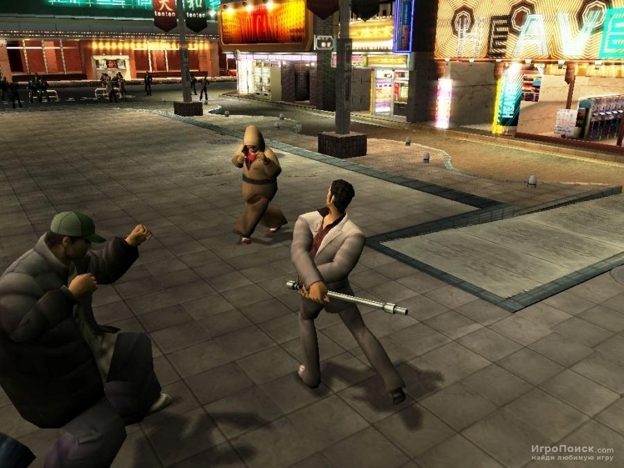 Скриншот к игре Yakuza