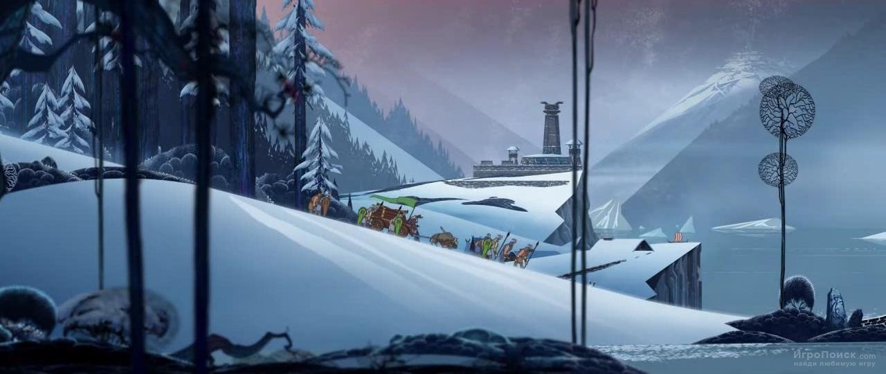 Скриншот к игре The Banner Saga