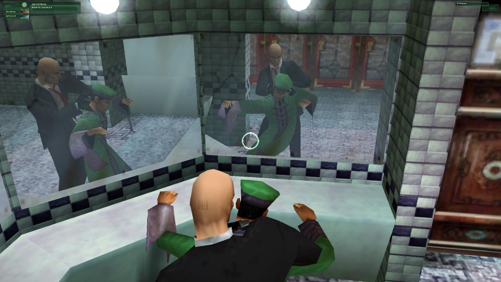Скриншот к игре Hitman: Codename 47