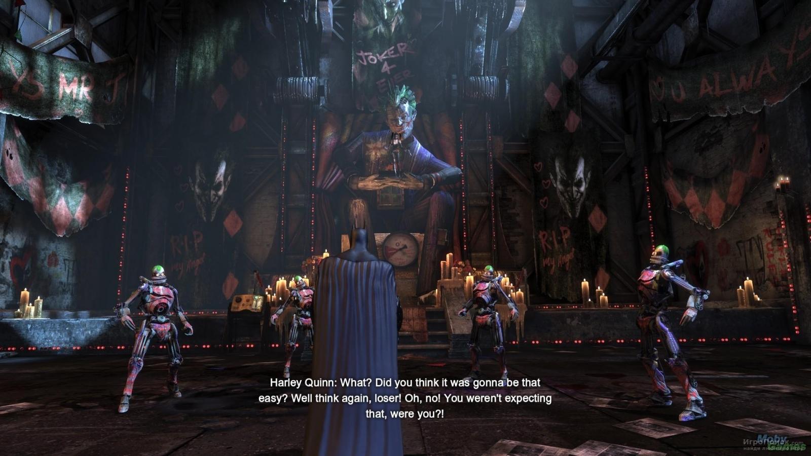 Скриншот к игре Batman: Arkham City - Harley Quinn's Revenge