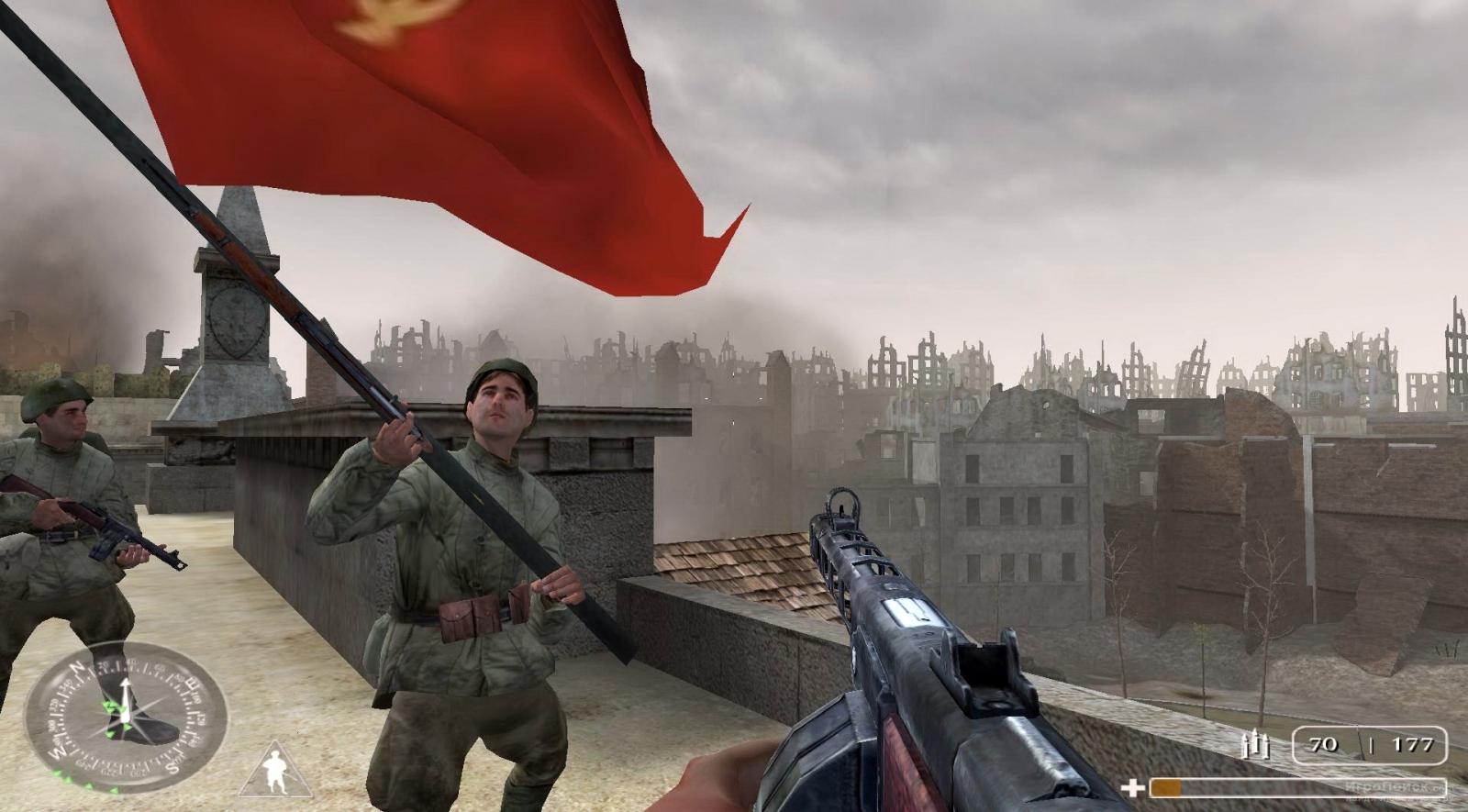 Скриншот к игре Call of Duty
