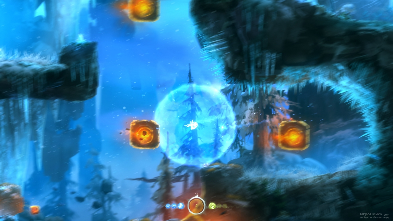 Скриншот к игре Ori and the Blind Forest