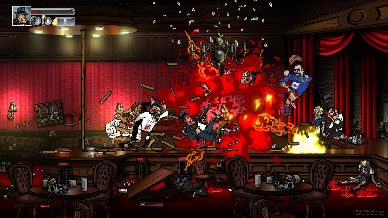 Скриншот к игре Guns, Gore and Cannoli